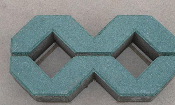8字草坪砖400×200×80
